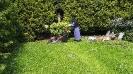 práce na zahradě-s.Bernadeta